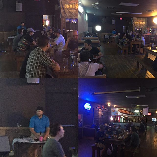 Hosting Trivia Night last week at Barley Hoppers Drafthouse. It was a blast!