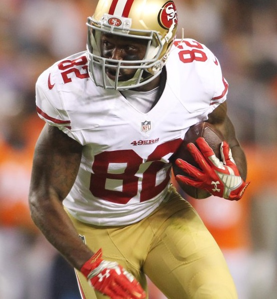 Torrey Smith (WR-SF) is a boom-or-bust wide receiver who should be better than his average draft position (ADP) suggests.