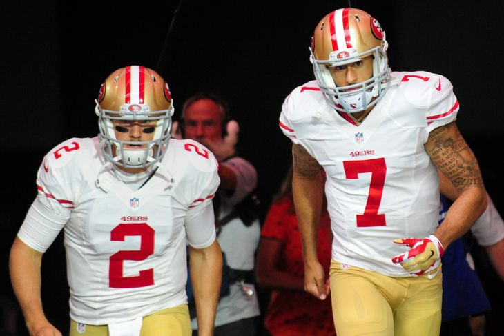 Not much is expected from either Blaine Gabbert (QB-SF) or Colin Kaepernick (QB-SF) in 2016, but Kaepernick is worth watching if he wins the starting job.