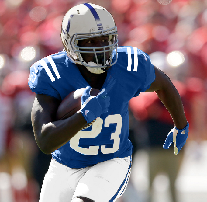 Frank Gore (RB-Ind) is still a good flex option or low-end RB2 in the right matchups for the 2016 fantasy football season.
