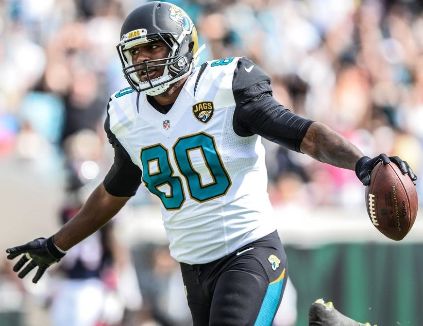 Julius Thomas (TE-Jax) has a long injury history, but, if he can stay healthy, he's a TE1 for the 2016 fantasy football season.