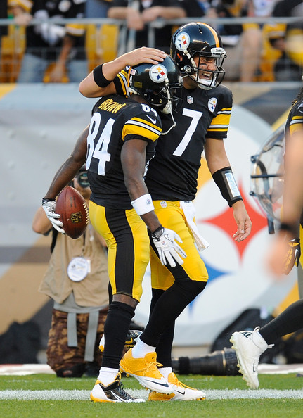 Ben Roethlisberger (QB-Pit) and Antonio Brown (WR-Pit) are a prolific NFL combo, and Antonio Brown should be the No. 1 pick in your 2016 fantasy football draft regardless of format.