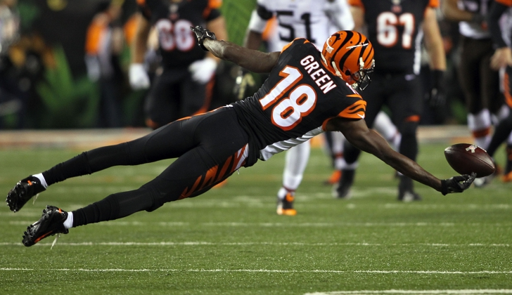 With the loss of Marvin Jones (WR-Det), Mohamed Sanu (WR-Atl), and the injury to Tyler Eifert (TE-Cin), A.J. Green (WR-Cin) is TJ's No. 4 ranked wide receiver in fantasy football for 2016.