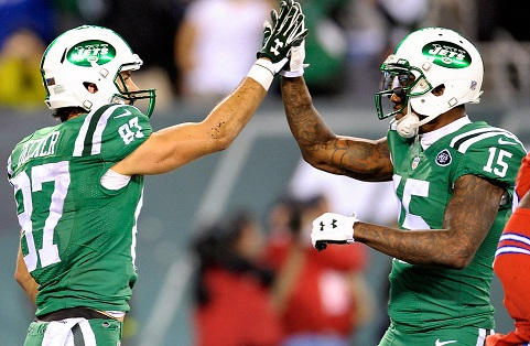 Brandon Marshall (WR-NYJ) and Eric Decker (WR-NYJ) are both safe, high-floor fantasy football receiver options in 2016