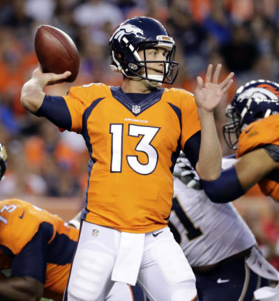 Trevor Siemian (QB-Den) is a good fantasy football streaming option during the NFL bye weeks.