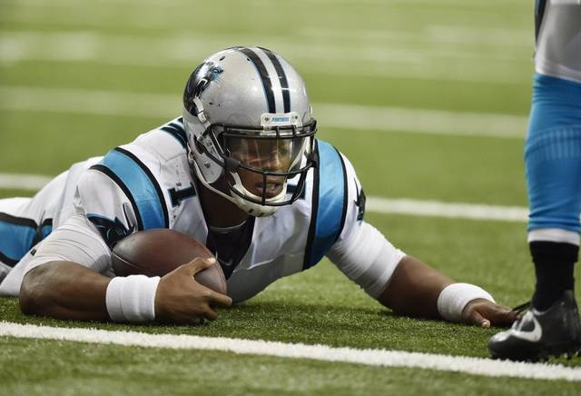 Cam Newton (QB-Car) is one of the many injuries heading into NFL fantasy football week 5.