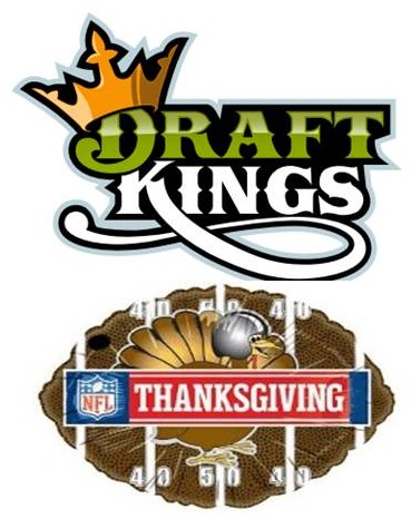There is an excellent slate of NFL games for Thanksgiving Day with plenty of daily fantasy football goodness.
