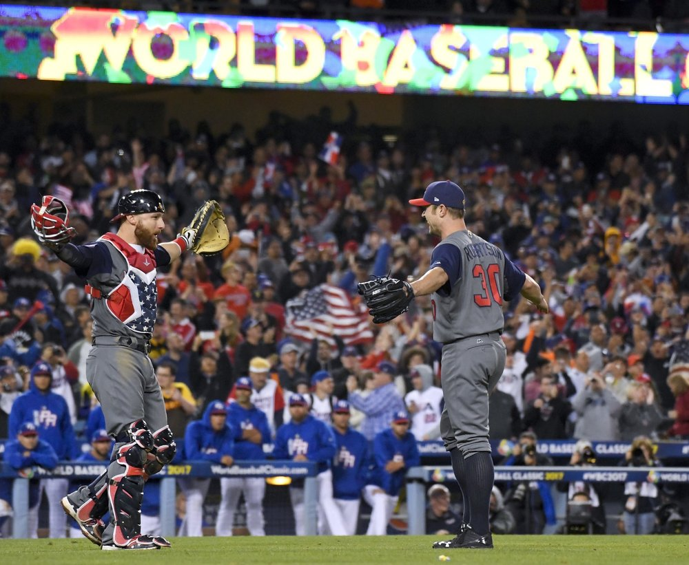 The USA defeated Puerto Rico in the 2017 World Baseball Classic.