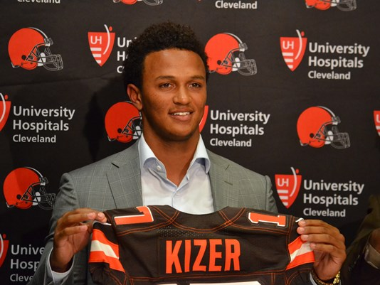 DeShone Kizer (QB-Cle) was among the undrafted in our 2017 fantasy football rookie draft, but could surprise in a year or two.