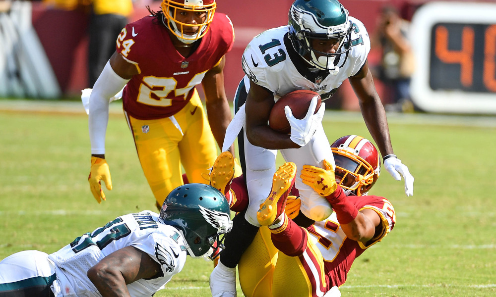 Nelson Agholor  has become a very important piece of the Eagles explosive offense.