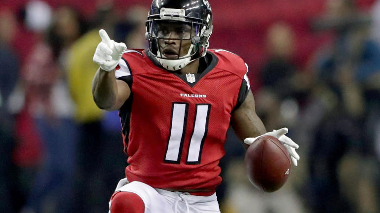 Julio Jones  broke his 2017 Touchdown drought last week in the Super Bowl rematch. He hopes to turn it into a Touchdown streak against the Jets who are 24th against WR's.