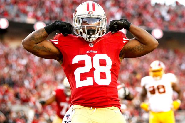 Carlos Hyde saw 12 carries and 9 catches Week 9 against the Cardinals. Things shouldn't slow down Week 10 against the paltry Giants defense.