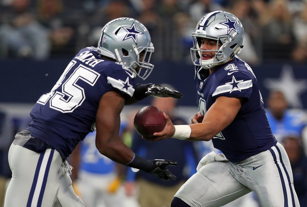 Rod Smith  scored the only TD for the ineffective Cowboys offense on Thanksgiving