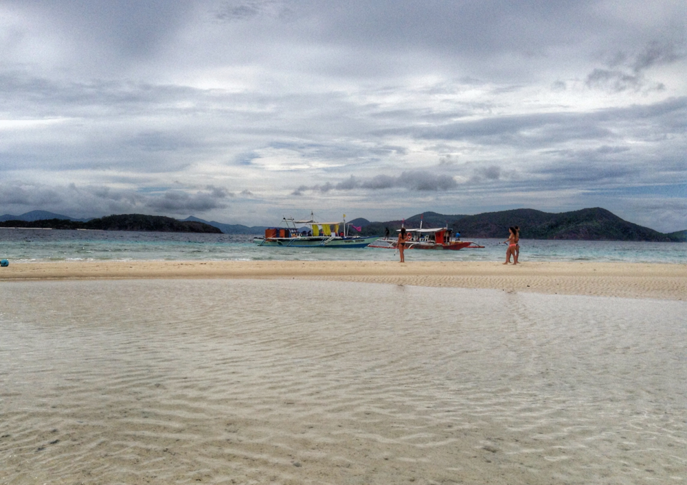 Sandbar situation on Bulog Dos.