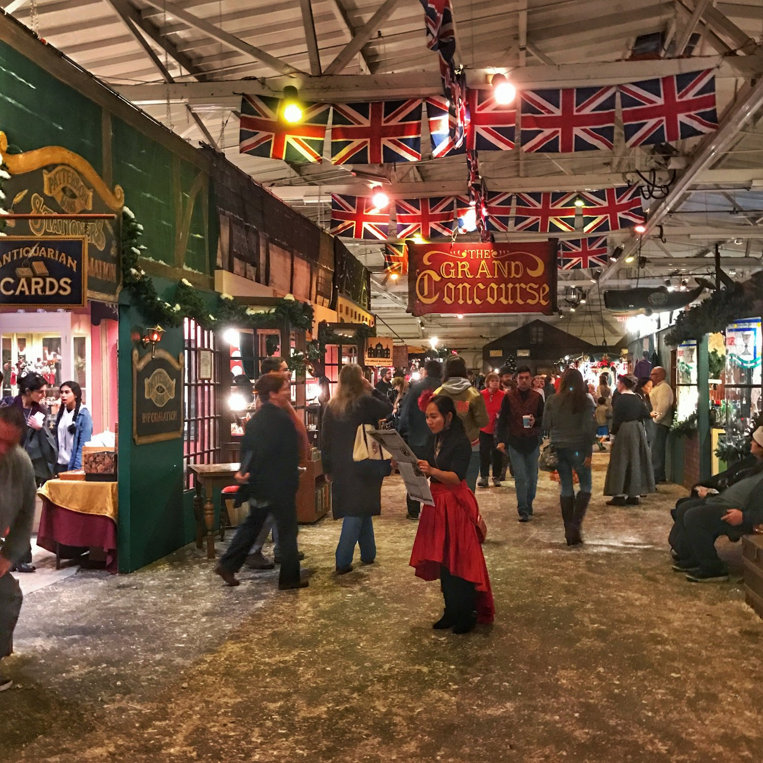 a trip to victorian london at the great dickens christmas fair