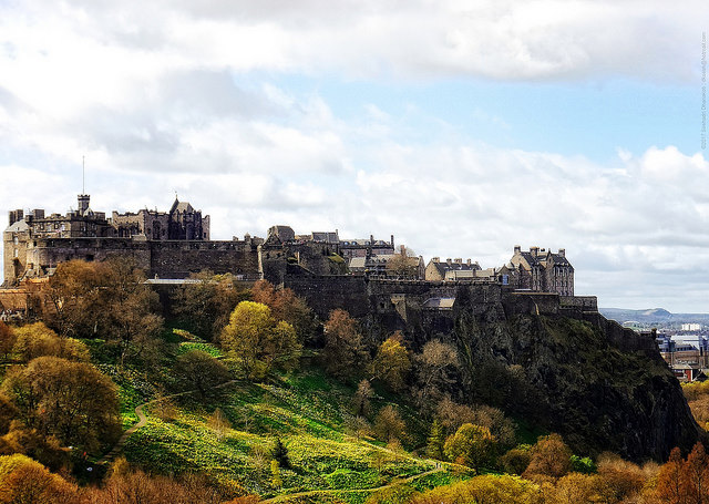 Edinburgh Castle  ©  dksesh via Flickr