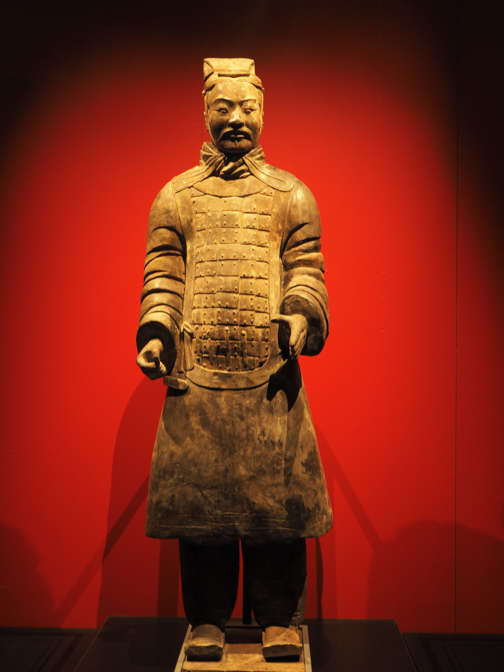 Get There Get Lost family night at the museum terracotta warriors