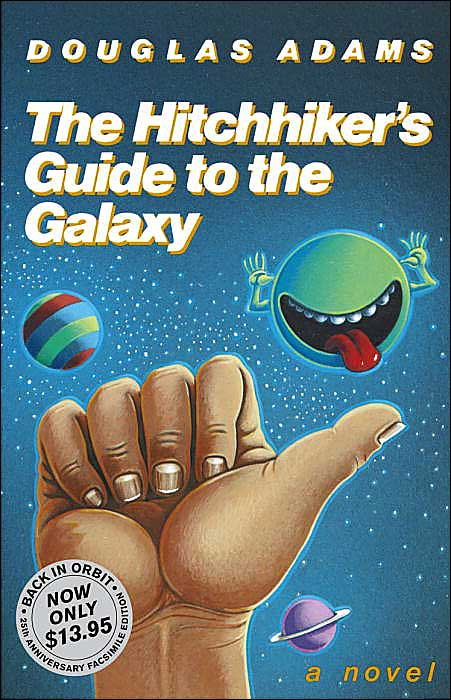The confusing timeline of the hitchhikers guide to the galaxy.