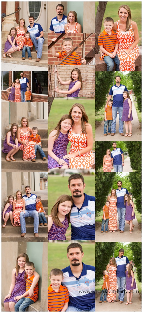 perry oklahoma family photographer boone family captured by karly