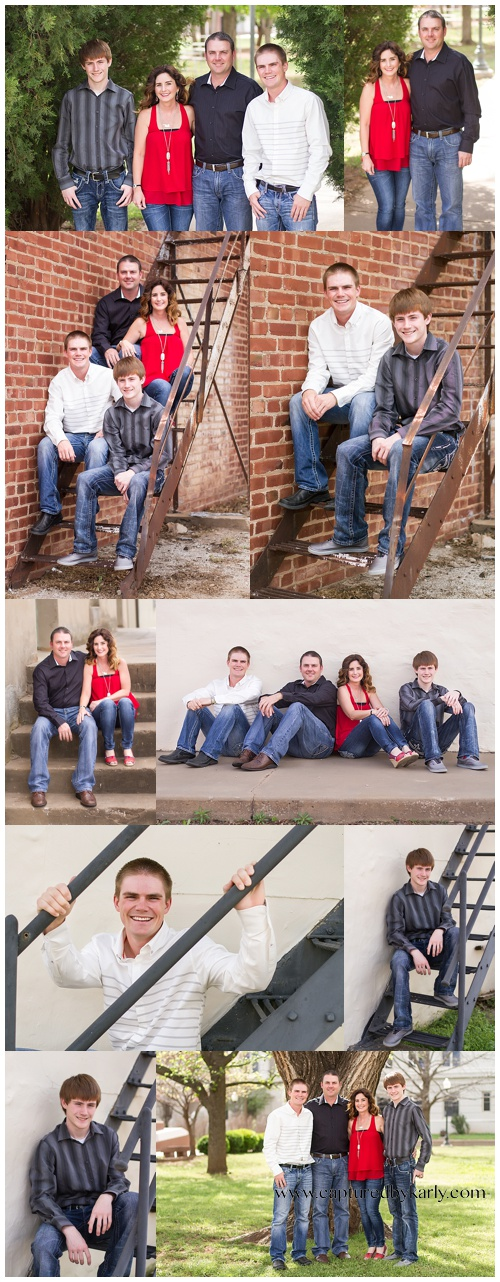 perry oklahoma family photographer woods family captured by karly