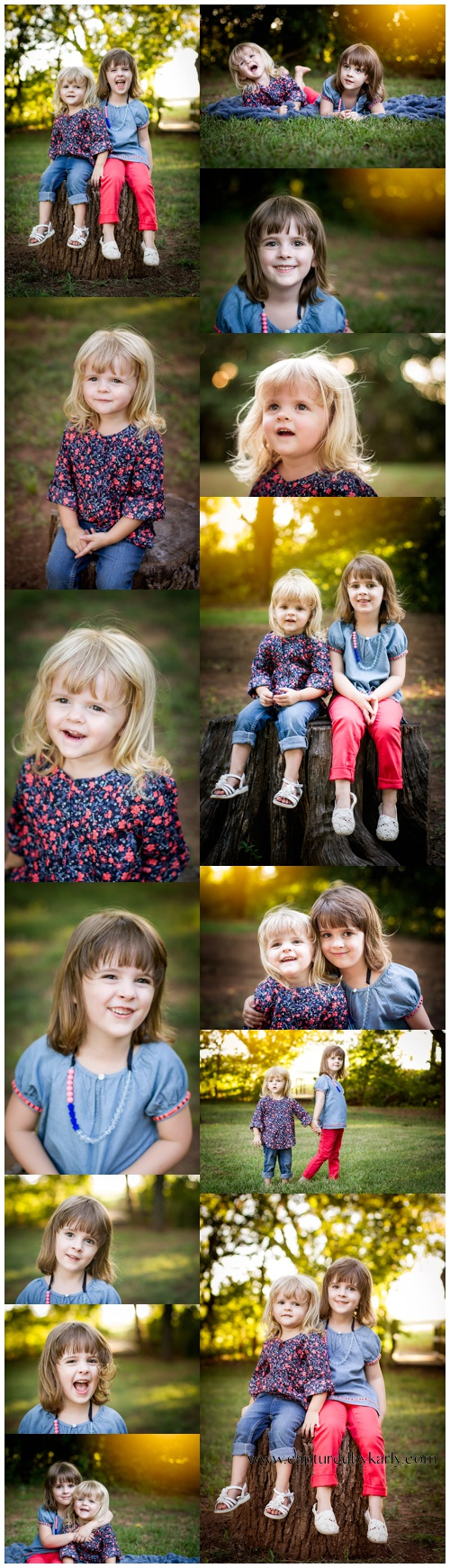 perry oklahoma 73077 family photographer mangum sisters captured by karly