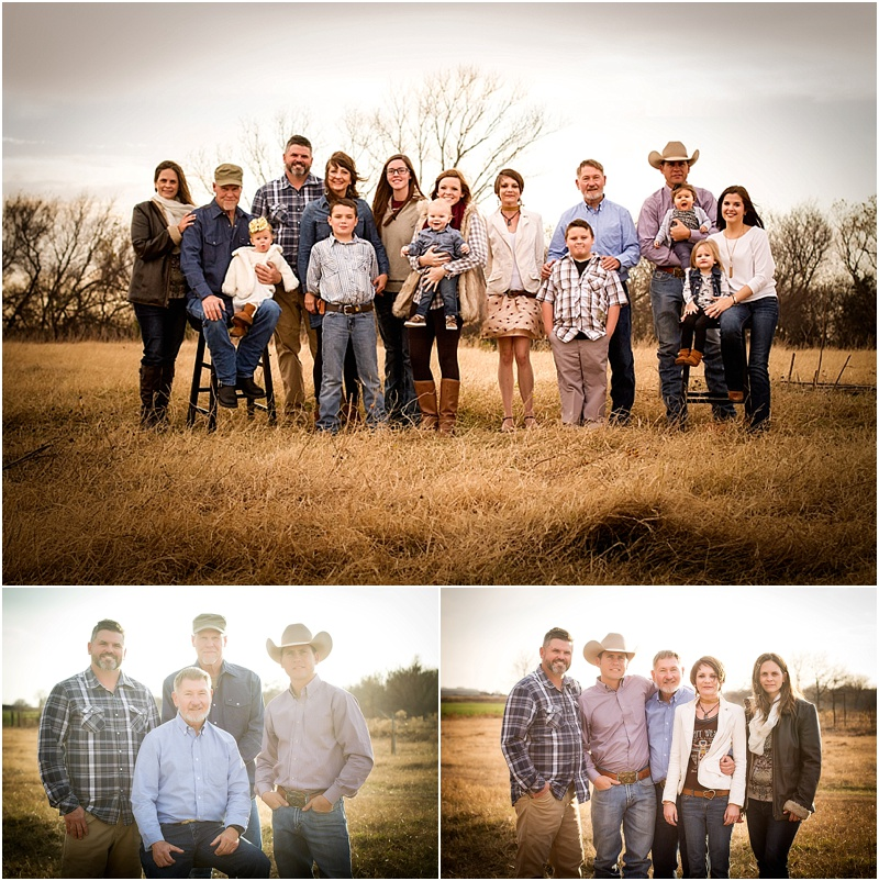 mcguire family perry oklahoma 73077 extended family portrait photographer captured by karly