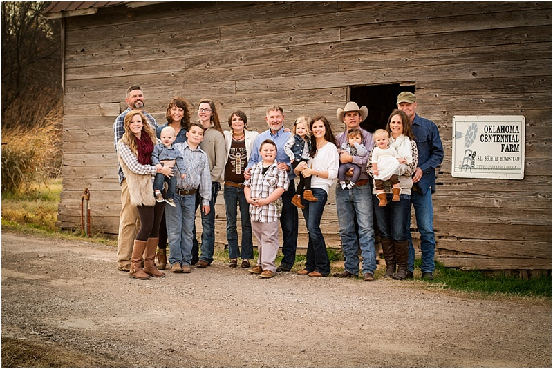 mcguire family perry oklahoma 73077 extended family portrait photographer captured by karly 9