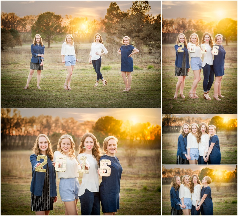 stillwater oklahoma 74074 senior portrait photographer group best friend senior photos captured by karly