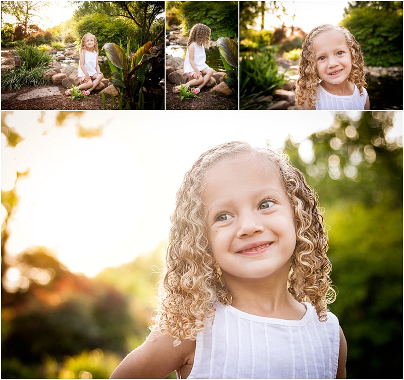 child portraits at oklahoma state university botanical gardens in stillwaterr oklahoma by captured by karly phootgraphy