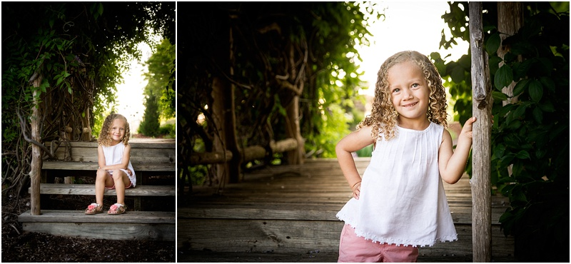 child portrait session at oklahoma state university botanical gardens in stillwater oklahoma by captured by karly photography