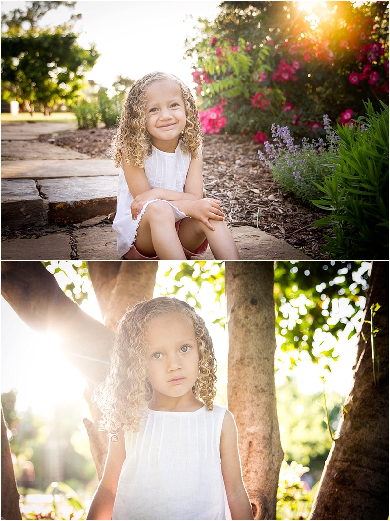 child portraits taken at oklahoma state university botanical gardens in stillwater oklahoma by captured by karly photography