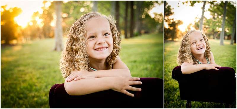 child portrait photography at oklahoma state university botanical gardens in stillwater oklahoma by captured by karly photography