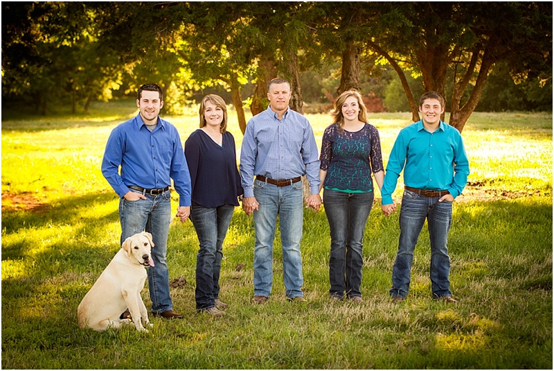 Stillwater Oklahoma 74074 Family Portrait Photographer | Captured By Karly