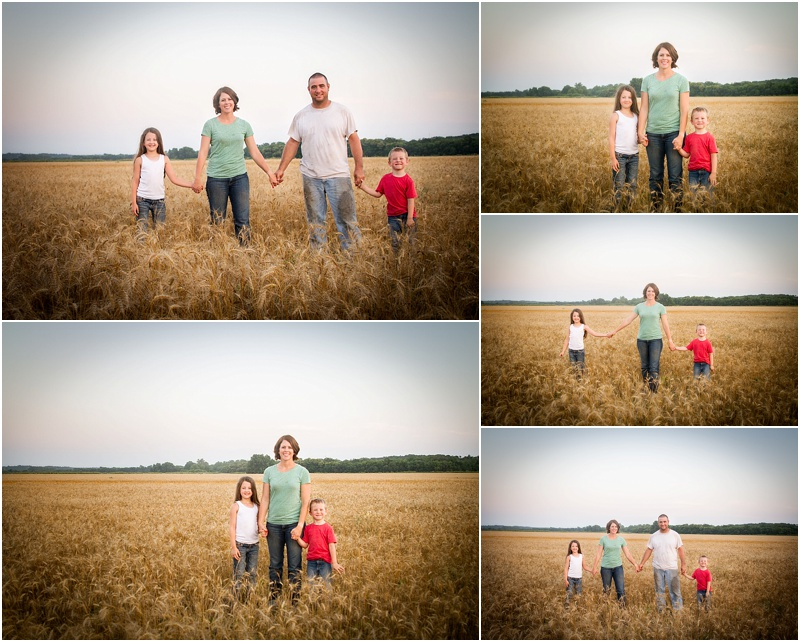 perry oklahoma 73077 family portrait photographehr captured by karly williams farm wheat harvest lifestyle session
