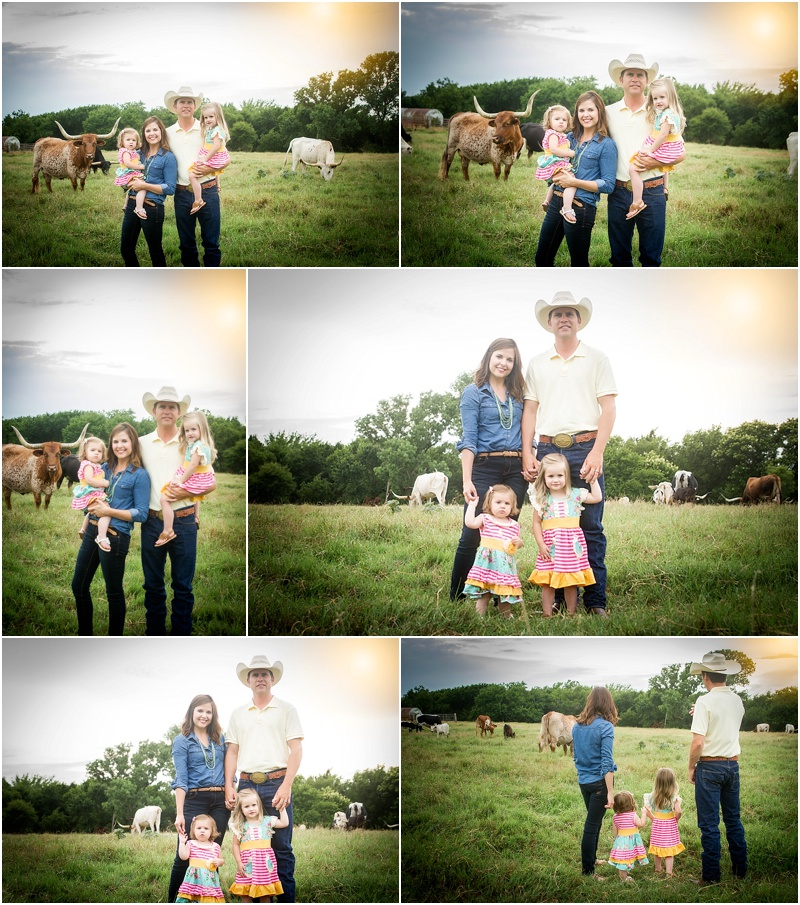 Perry Oklahoma Family Lifestyle Photographer | McGuire Land & Cattle | Captured By Karly | Cattle Family Pictures