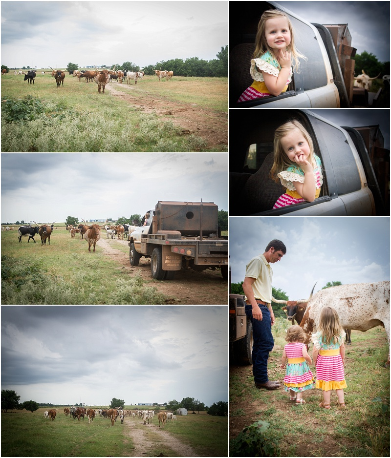 Perry Oklahoma Family Lifestyle Photographer | McGuire Land & Cattle | Captured By Karly | Cattle & Ranch Family Photos