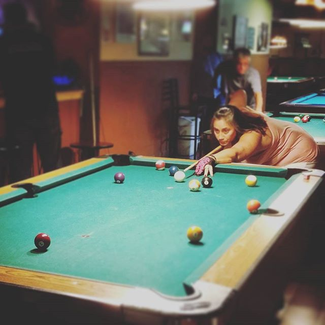 Focused #statusq #statusqbilliards #sportsbar #bar #lounge #billiards #pool #brooklyn #newyork #ny #bk #8ball #9ball #10ball #apa #apaleague #poolleague #snooker #shanevanboening #efrenreyes #earlstrickland #beer #brooklynbar
