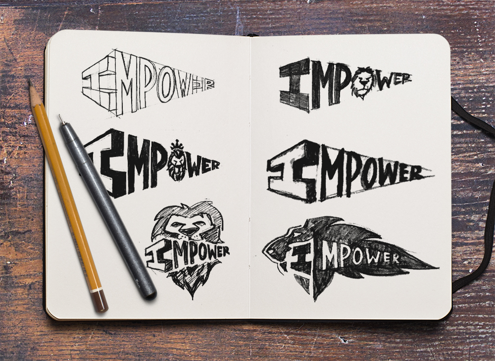 Impower   Logo Branding Design for Youth Resource and Learning Program  January 2017