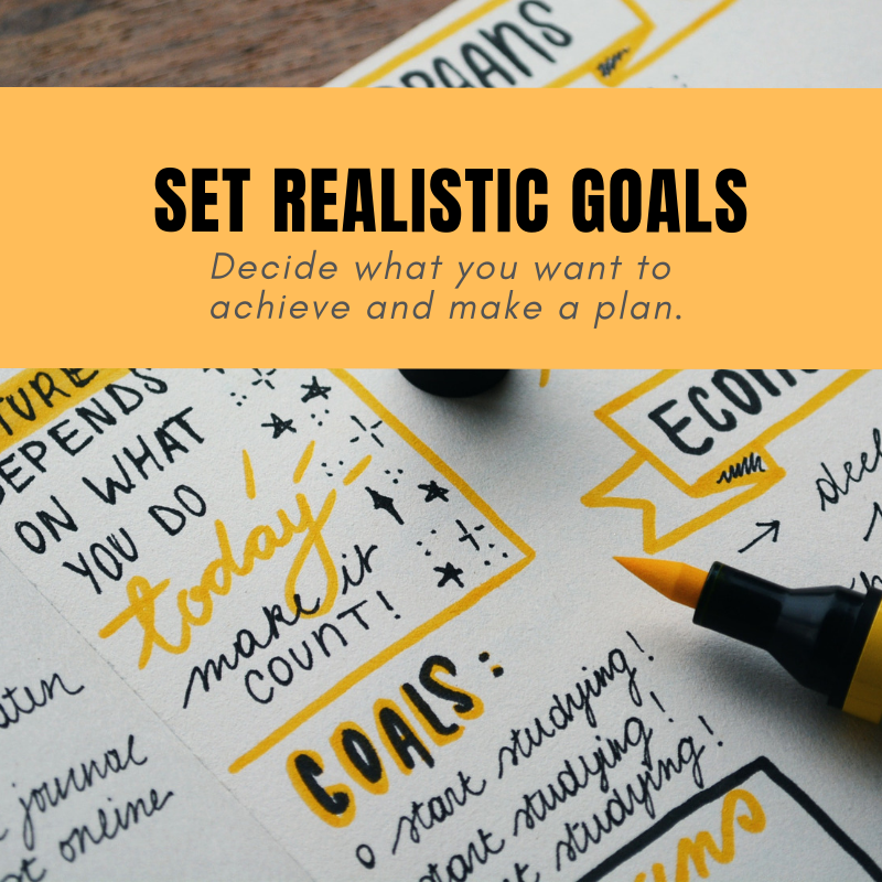 Set Realistic Goals - Many of us are going into the new year with the best intentions to take control of our money, health, or start a new hobby—but the reality is, many of us will fail to meet those goals.Learn how to set SMART goals for 2019:http://ow.ly/8f1330n1XXy