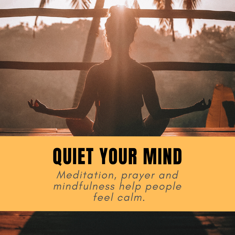Quiet Your Mind - If you allow your brain to run a mile a minute without ever interjecting, it will only press on with the madness until you discover that your mind has become a prison.However, you can actually free your mind, even if it seems impossible in the beginning.Learn 5 techniques to quiet your mind:http://ow.ly/HMIo50jYr1Y