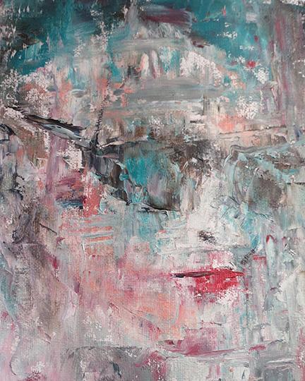 8x10 Oil on Canvas, 2016