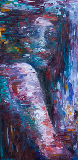 12x24 Oil on Canvas, 2016