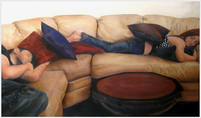 Sunday Afternoon, 2007   Oil on Canvas  24x36