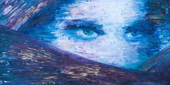 24x12 Oil on Canvas, 2016