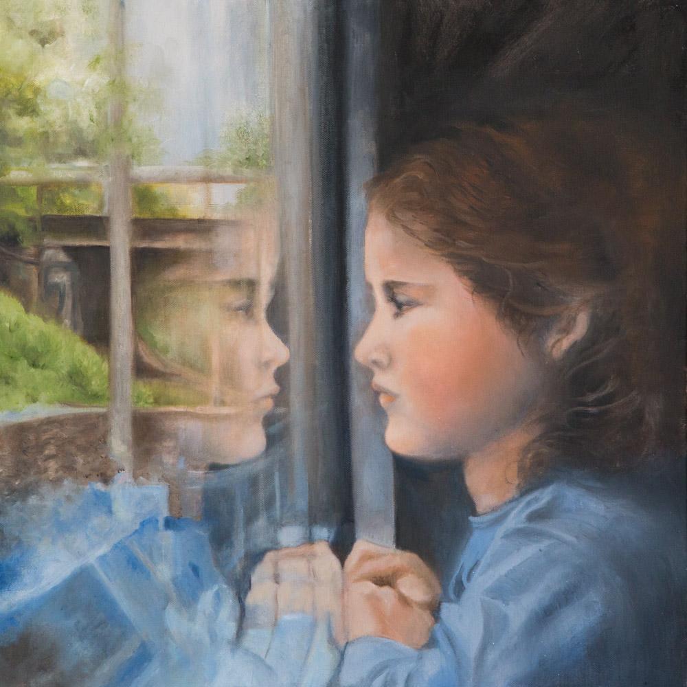 Oil on Canvas 20x20, 2018