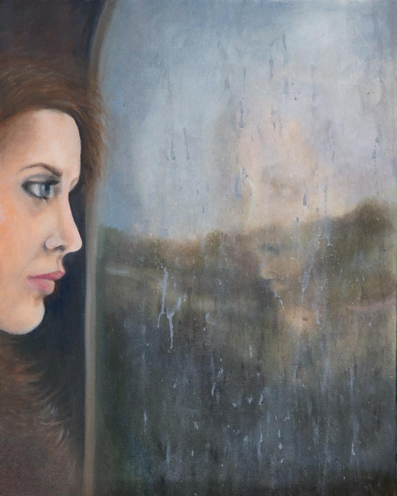Oil on Canvas 16x20, 2018