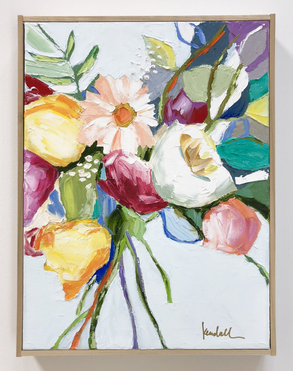 'Blue Wild' | 12 x 16 | $300