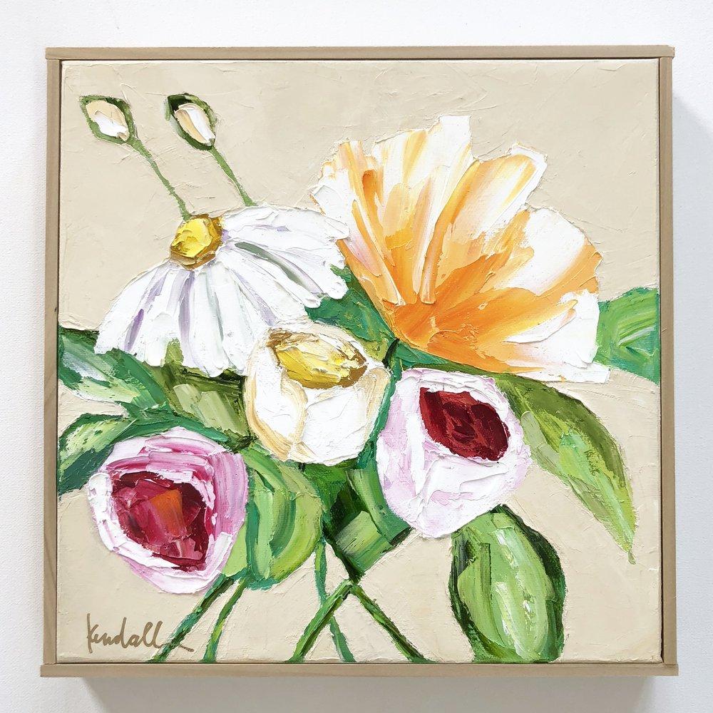 'Dizzy Daisy' | 12 x 12 | $250