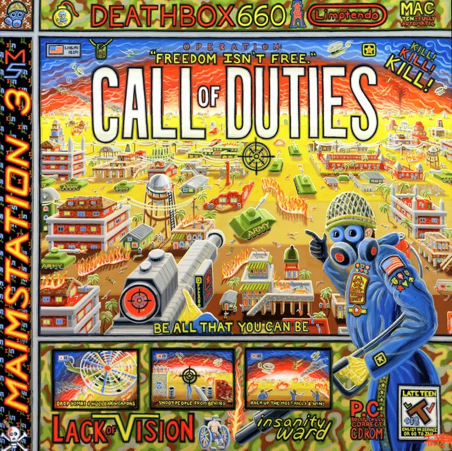 098 Call Of Duty 48x48 June 2012 Canvas Josh Landy KS USA.jpg