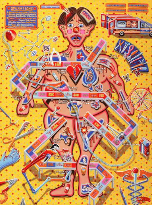 101 Operation 48x36 Canvas Jan 2013 SOLD Robert Bukaty USA.jpg